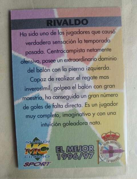 Imagen producto Rivaldo card. 2