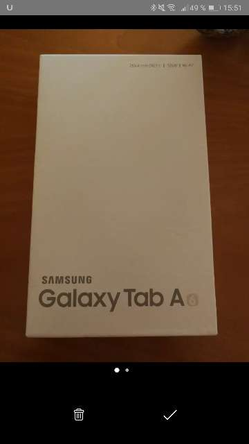 Imagen producto Samsung Tab A6 32 GB  1.6 GHz  Blanco  1