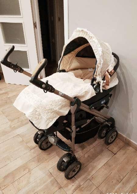 Imagen Trío Chicco bebé (Maxicosi + silla paseo + capazo)