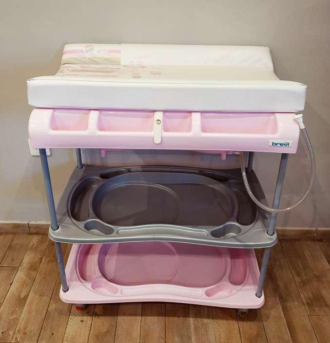 Imagen Bañera cambiador bebé marca Brevi