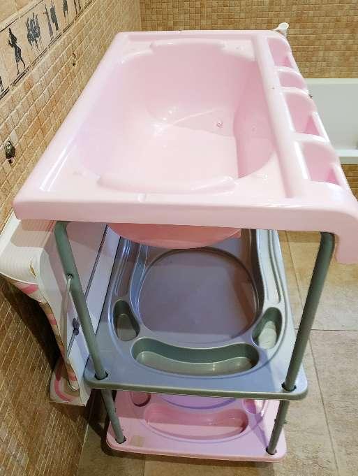 Imagen producto Bañera cambiador bebé marca Brevi 3