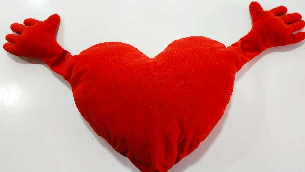 Imagen Cojín de corazón de Ikea