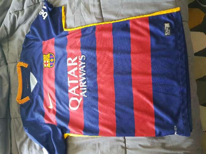 Imagen camiseta FCB