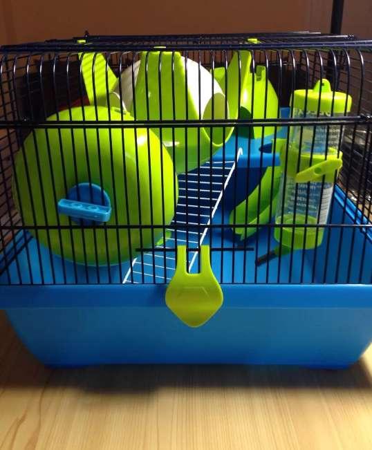 Imagen jaula hamster