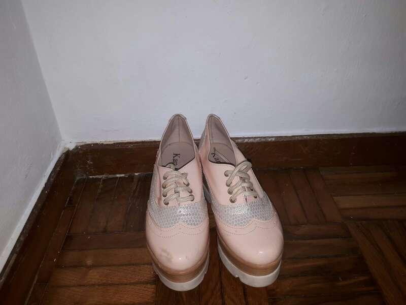 Imagen producto Vendo Zapatos Rosa para dama 2
