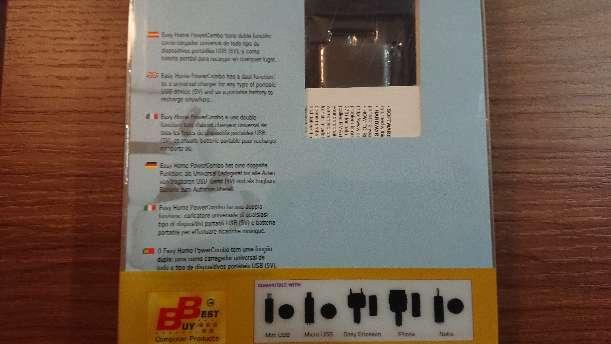 Imagen producto Power bank 2x1700 mAh dual  7