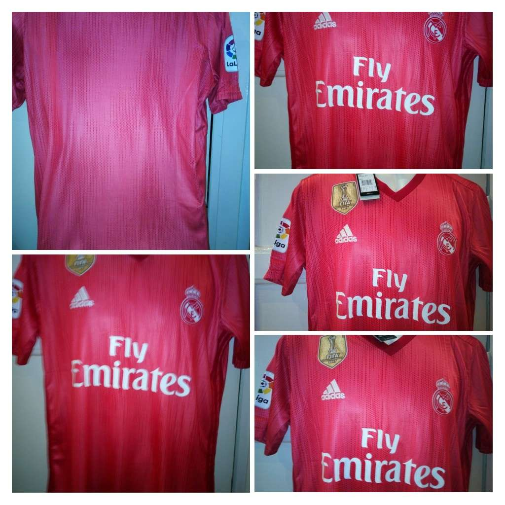 Imagen producto Camisetas Real madrid coral 2019  1