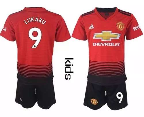 Imagen Conjuntos niÑos Manchester United 2019