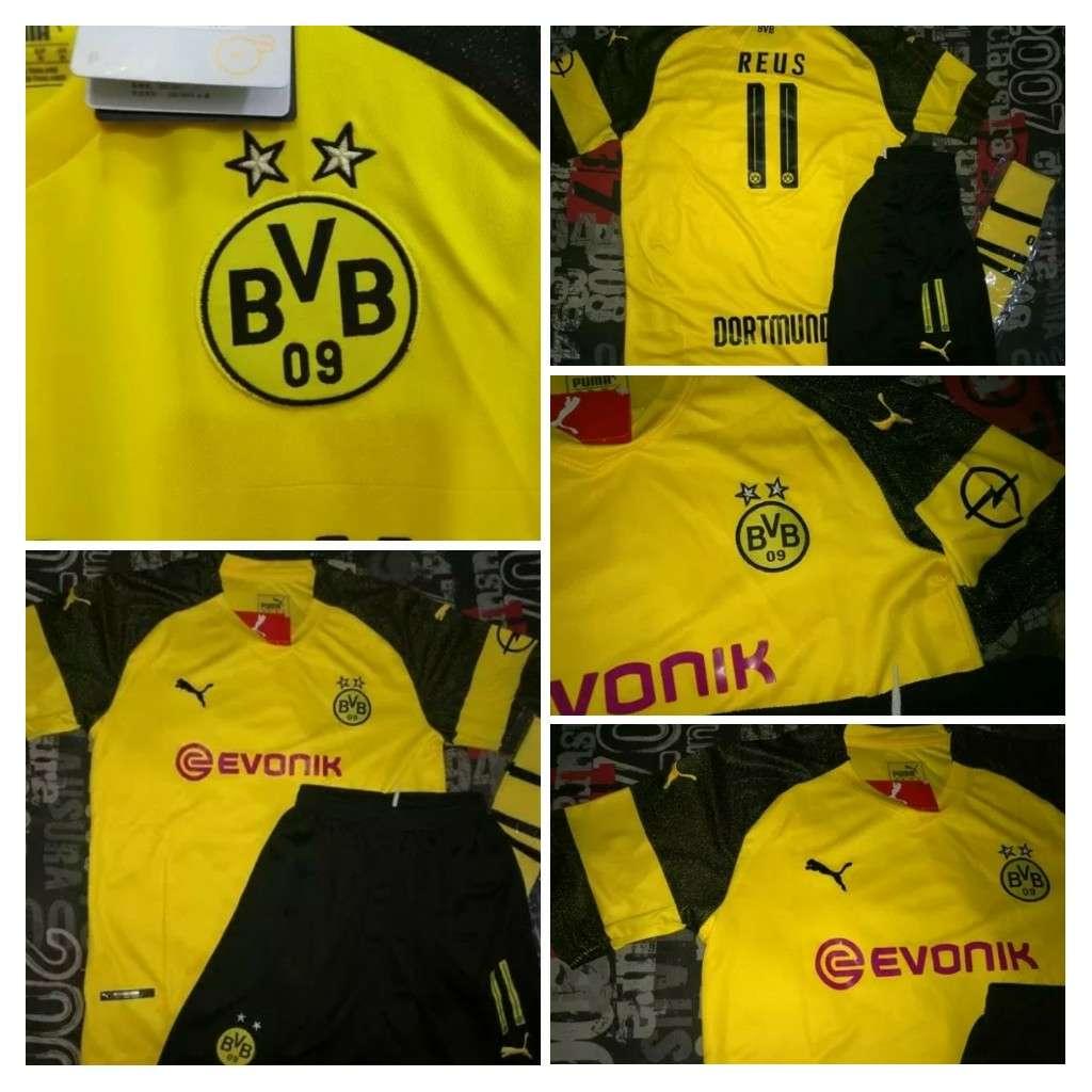 Imagen Equipaciones niños Borussia Dortmund 2019