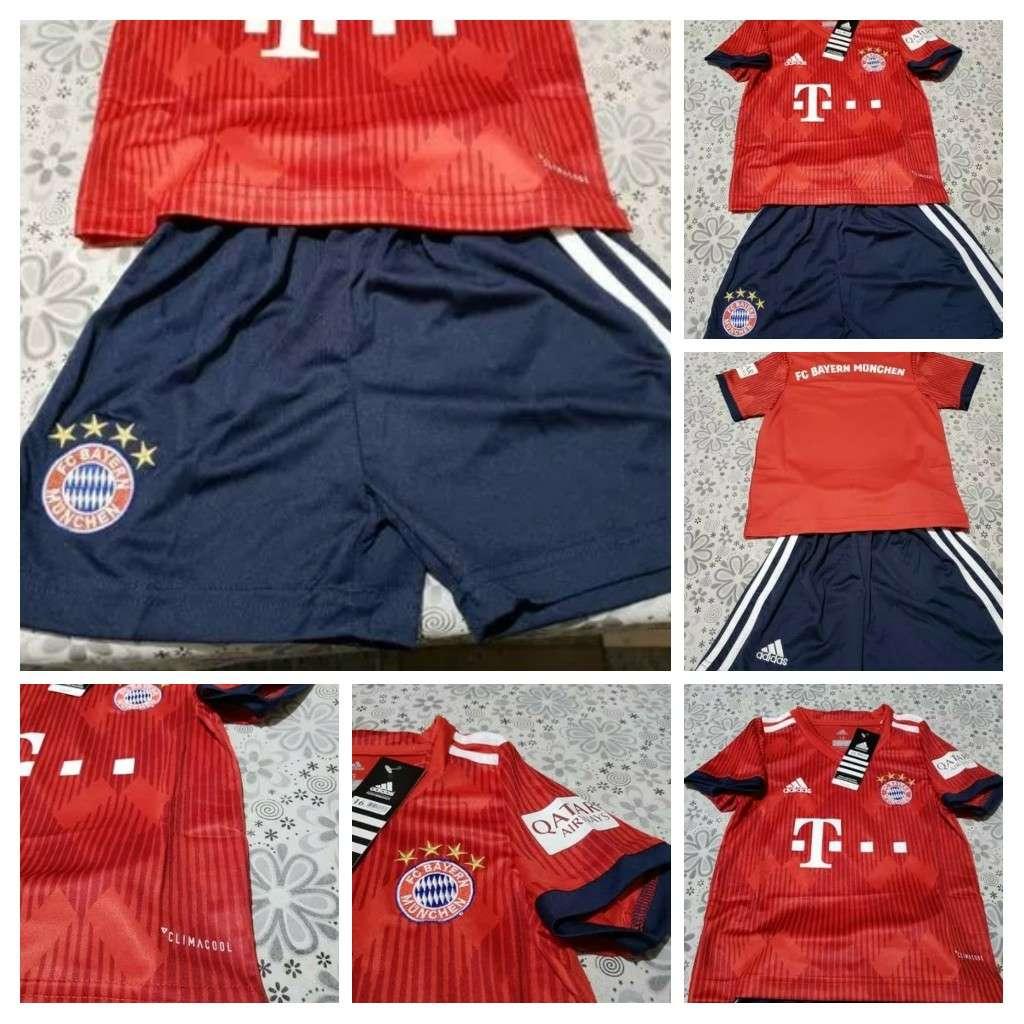 Imagen Equipaciones niños Bayern Munchen 2019
