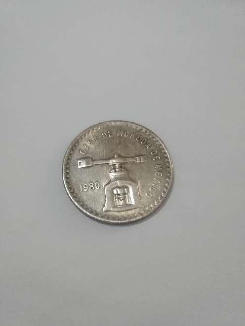 Imagen Vendo Moneda antigua mexicana de plata pura