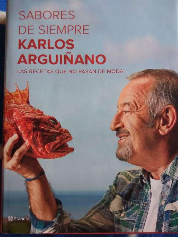 Imagen libro Karlos Arguiñano