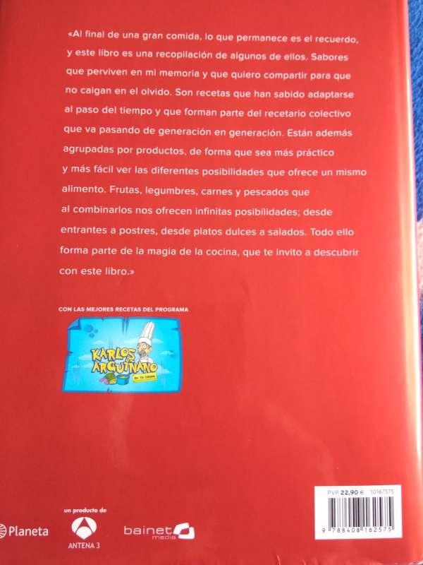 Imagen producto Libro Karlos Arguiñano 3