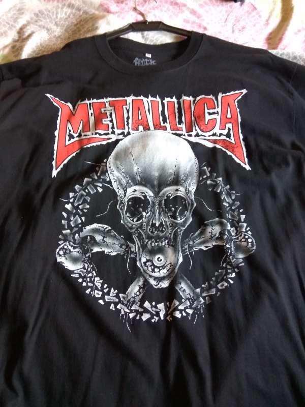 Imagen producto Camiseta Metallica 2