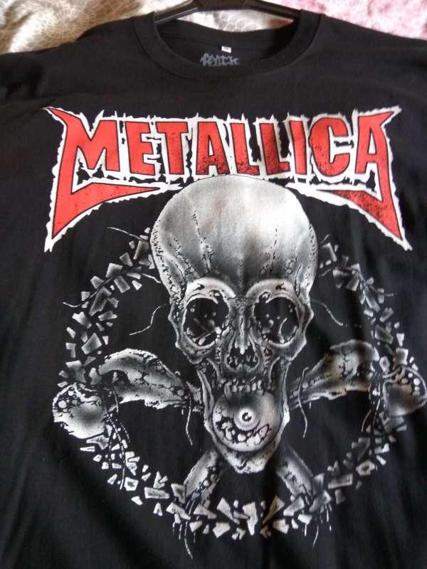 Imagen camiseta Metallica