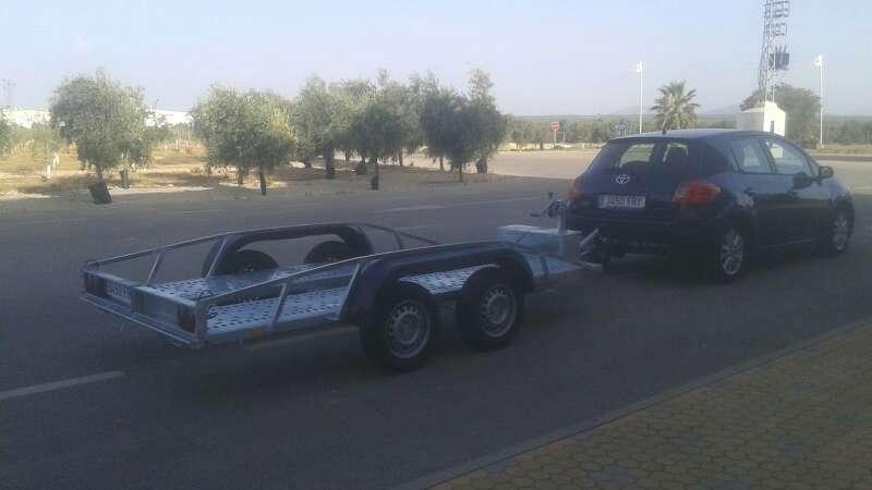 Imagen producto Alquiler remolque coche/batea 2