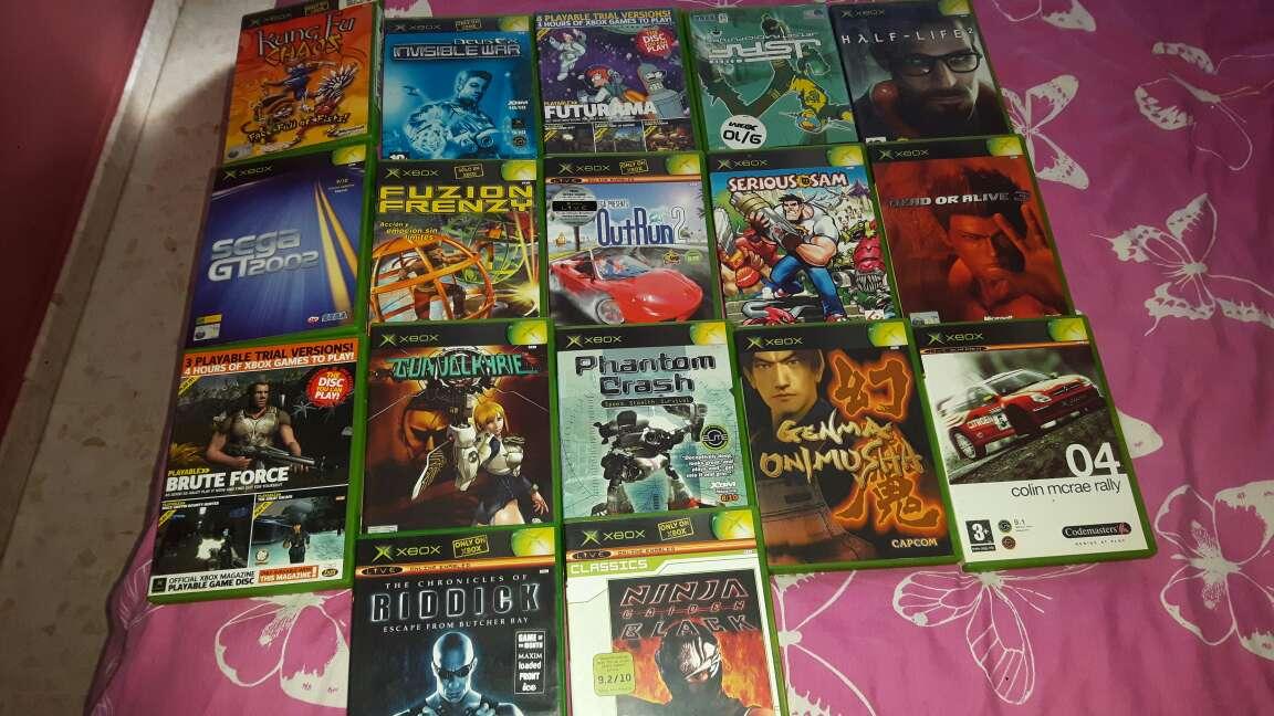 Imagen vendo todos este lote de juegos de la Xbox esta todos nuevo