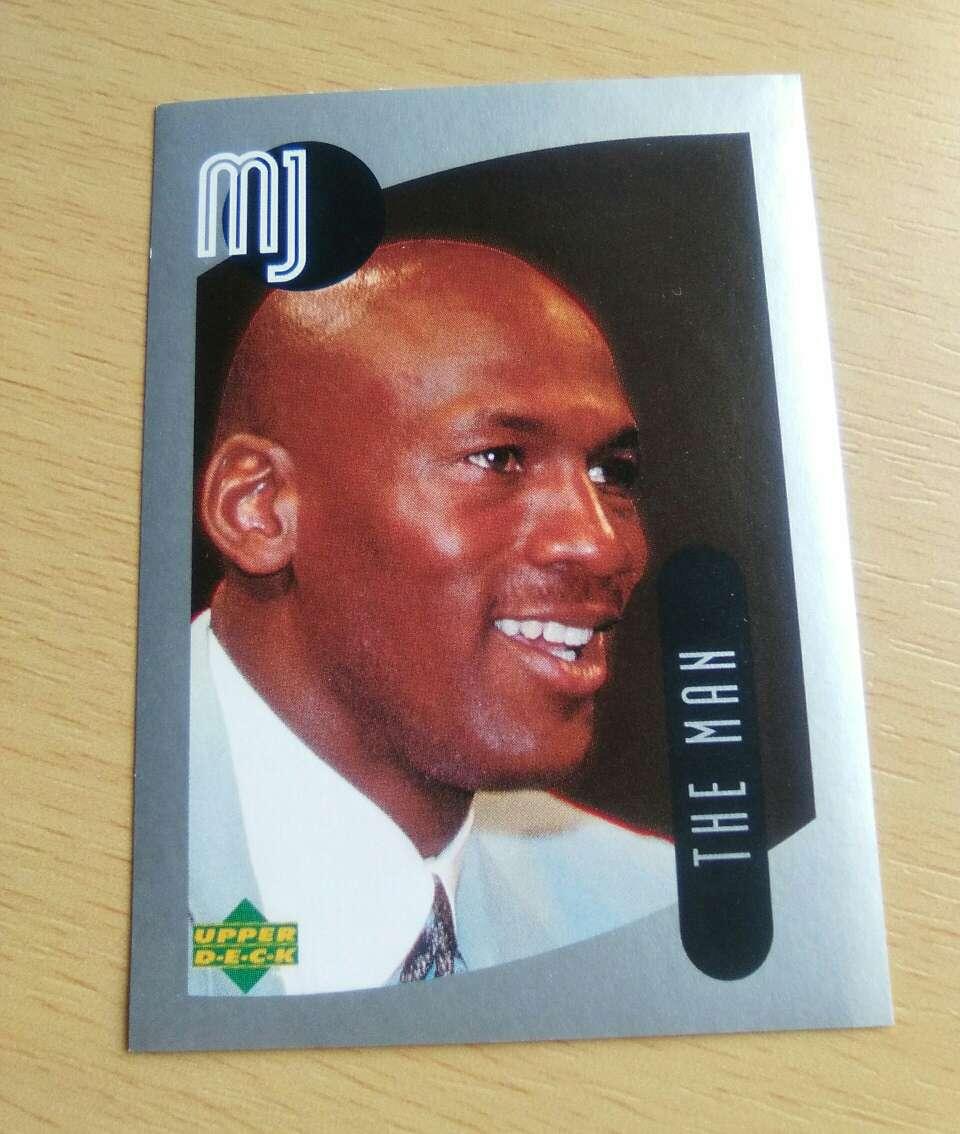 Imagen Michael Jordan Card.