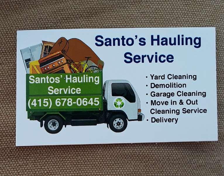 Imagen producto Hauling service 1