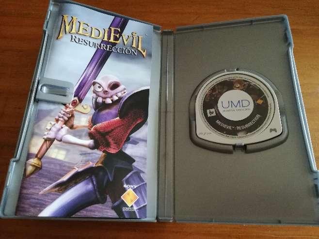 Imagen producto Videoconsola PSP + 3 juegos 6