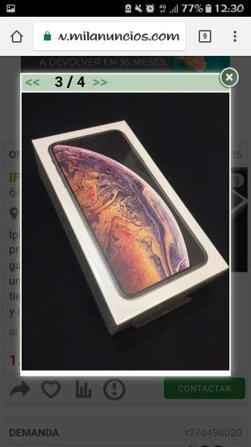 Imagen iPhone XS MAX 64GB