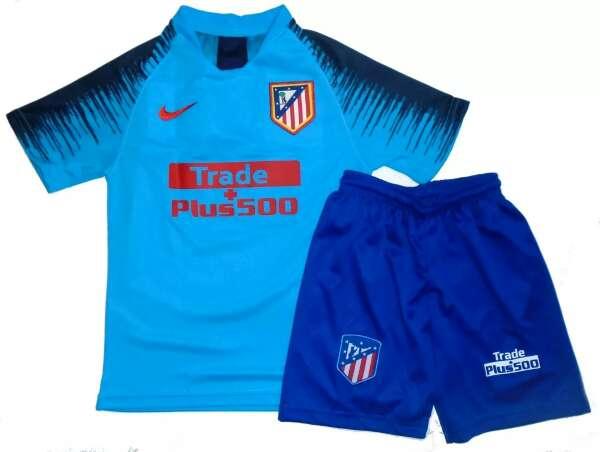 Imagen Conjuntos niños Atléti de Madrid 2019 azules