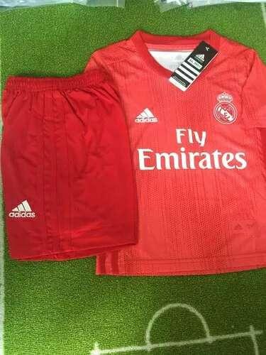 Imagen Conjuntos Real Madrid niños coral 3 equipacion