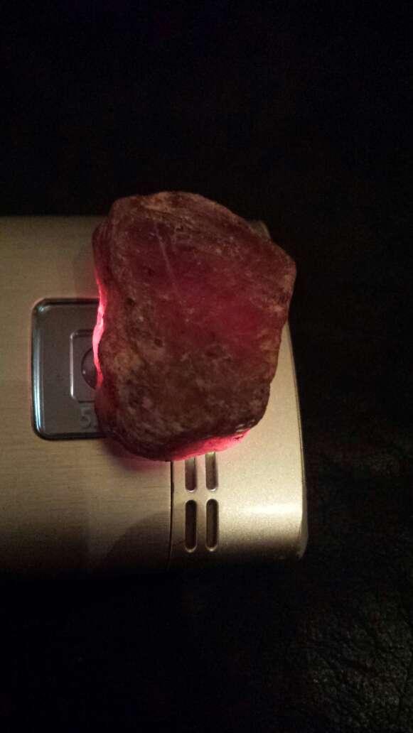 Imagen producto Rubí rojo 100 % natural 134 ct 3