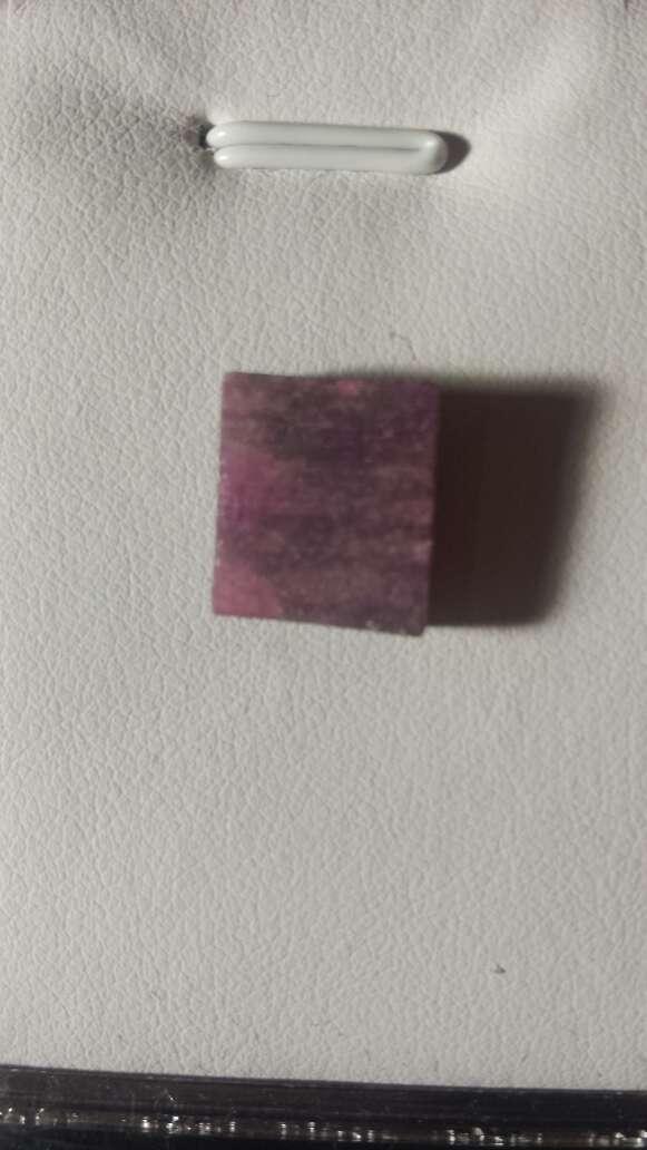 Imagen producto Rubí rojo sangre cuadrado 10 ct  3