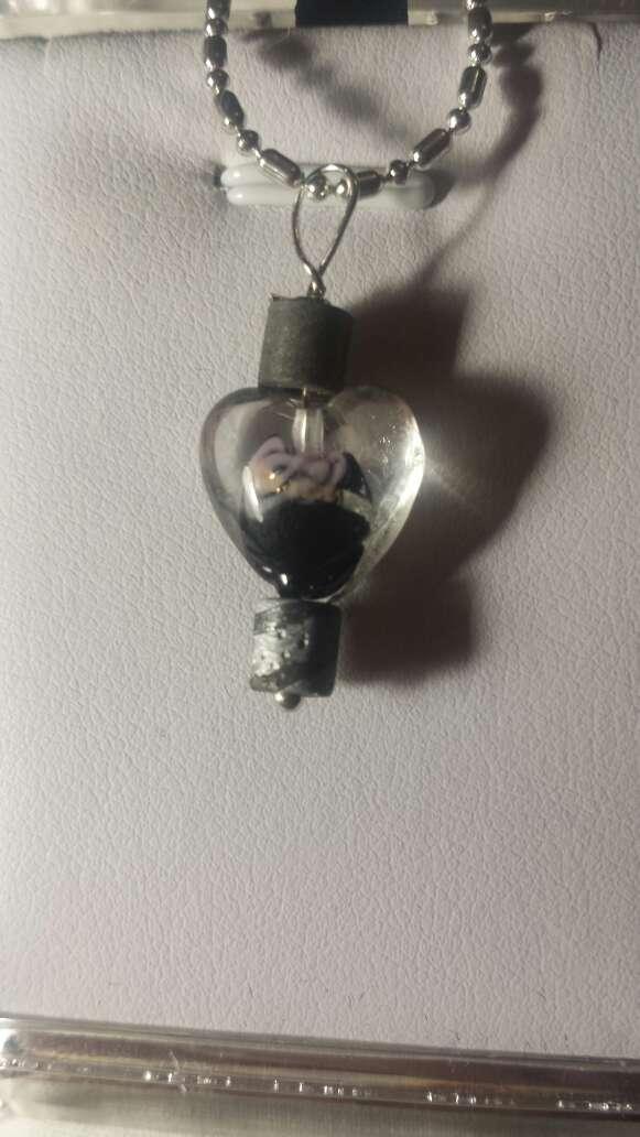 Imagen producto Doble meteorito y corazón  2