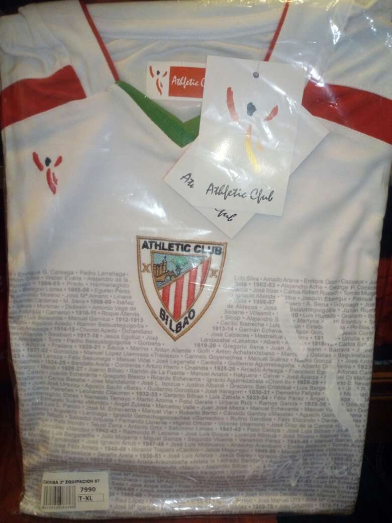 Imagen camiseta athletic bilbao