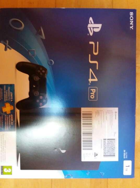 Imagen PS4 pro 1tb
