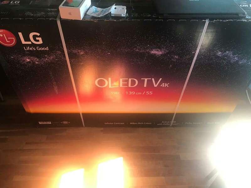 Imagen tv LG oled 55