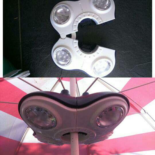 Imagen producto Lámpara portátil con bateria 2