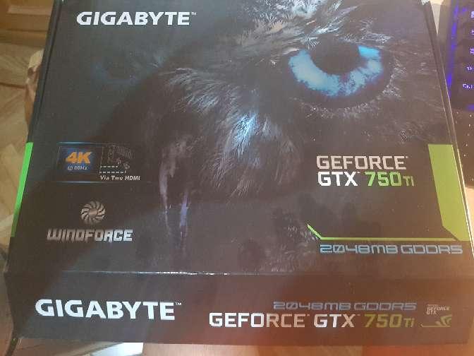 Imagen Tarjeta grafica Gtx 750Ti