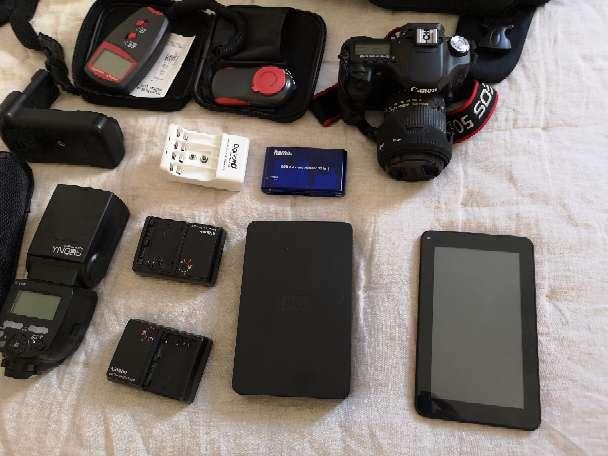 Imagen producto Canon 50D + Equipo de fotografía  2
