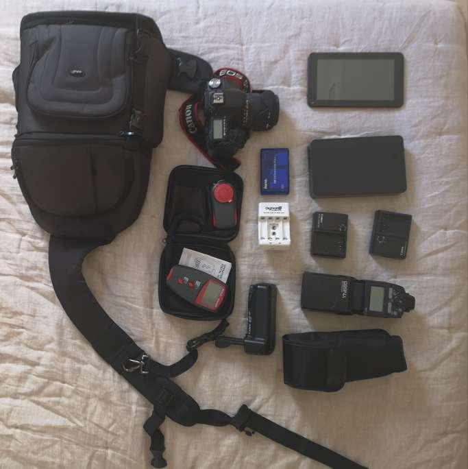 Imagen producto Canon 50D + Equipo de fotografía  4