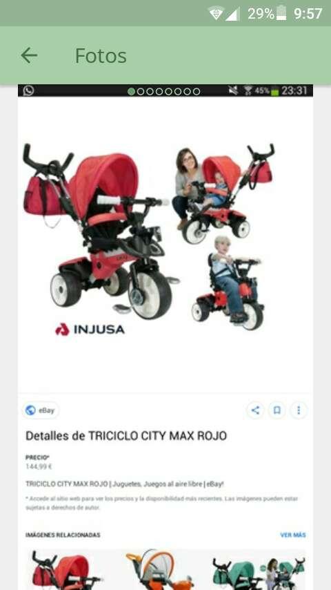 Imagen triciclo bebe