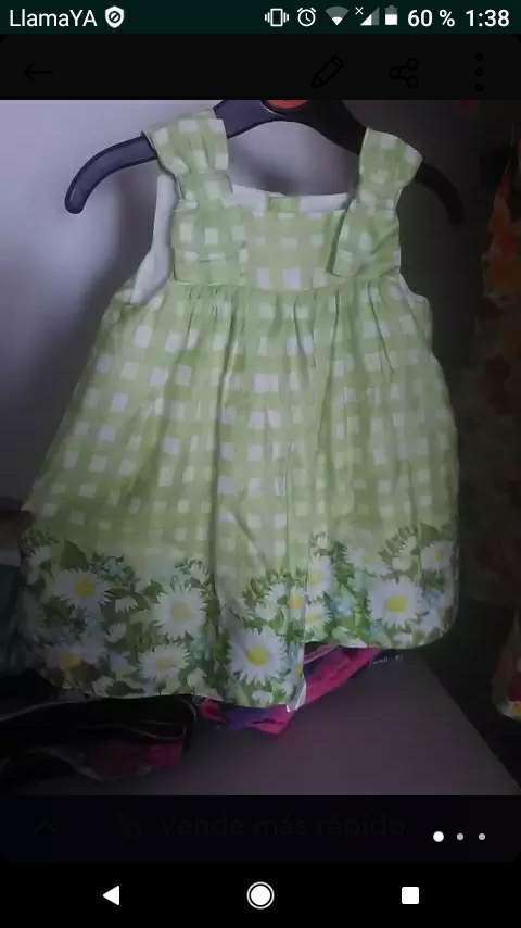 Imagen vestidos de niña de dos a 4 años precios económicos también vendo por lote o pares y hago precio