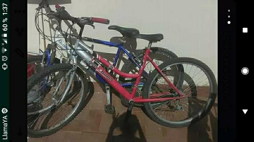 Imagen vendo dos bicis juntas o separadas
