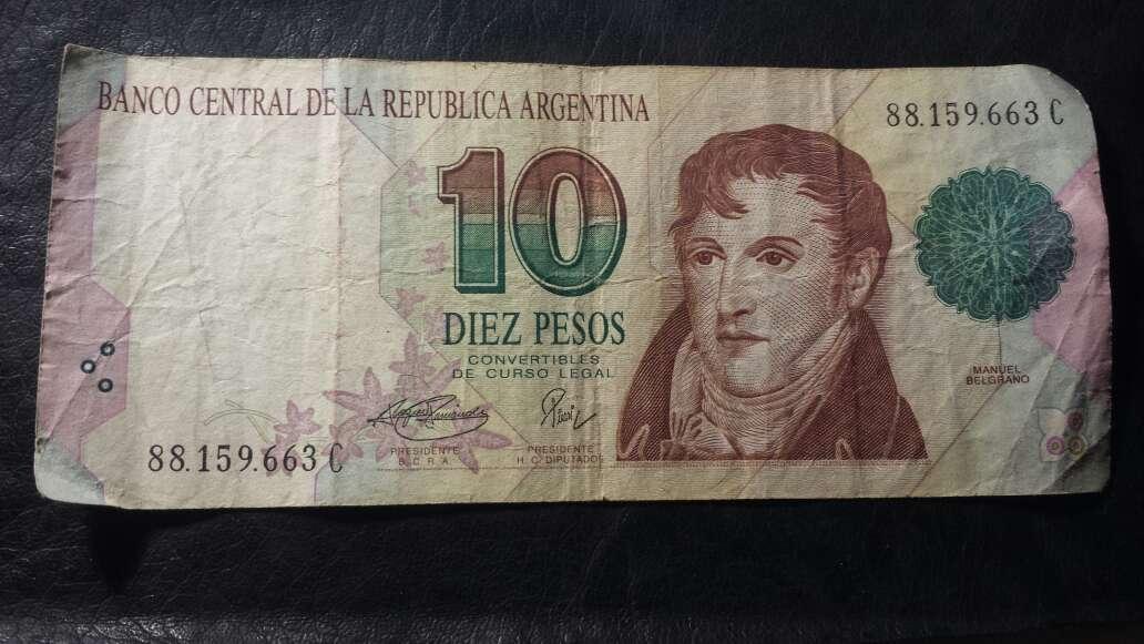 Imagen Billete de 10 pesos