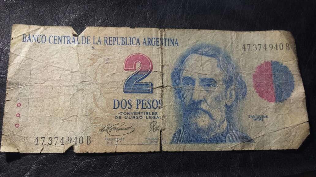 Imagen Billete de 2 pesos