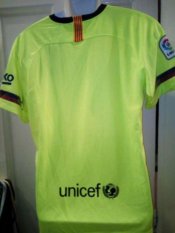 Imagen producto Camisetas Barcelona 2 equipacion  3