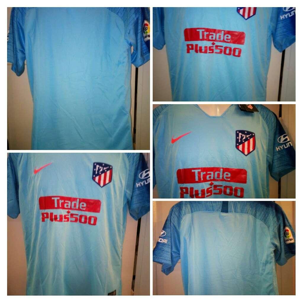 Imagen producto Camisetas Atleti de Madrid azules 2019  1