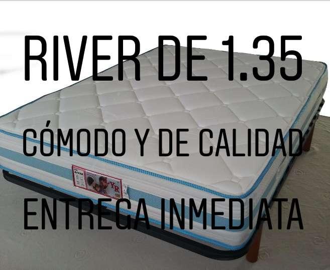Imagen RIVER de 1.35,nuevo de almacén,de calidad,no