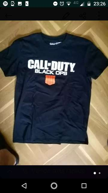 Imagen Camiseta Call off duty back ops 4