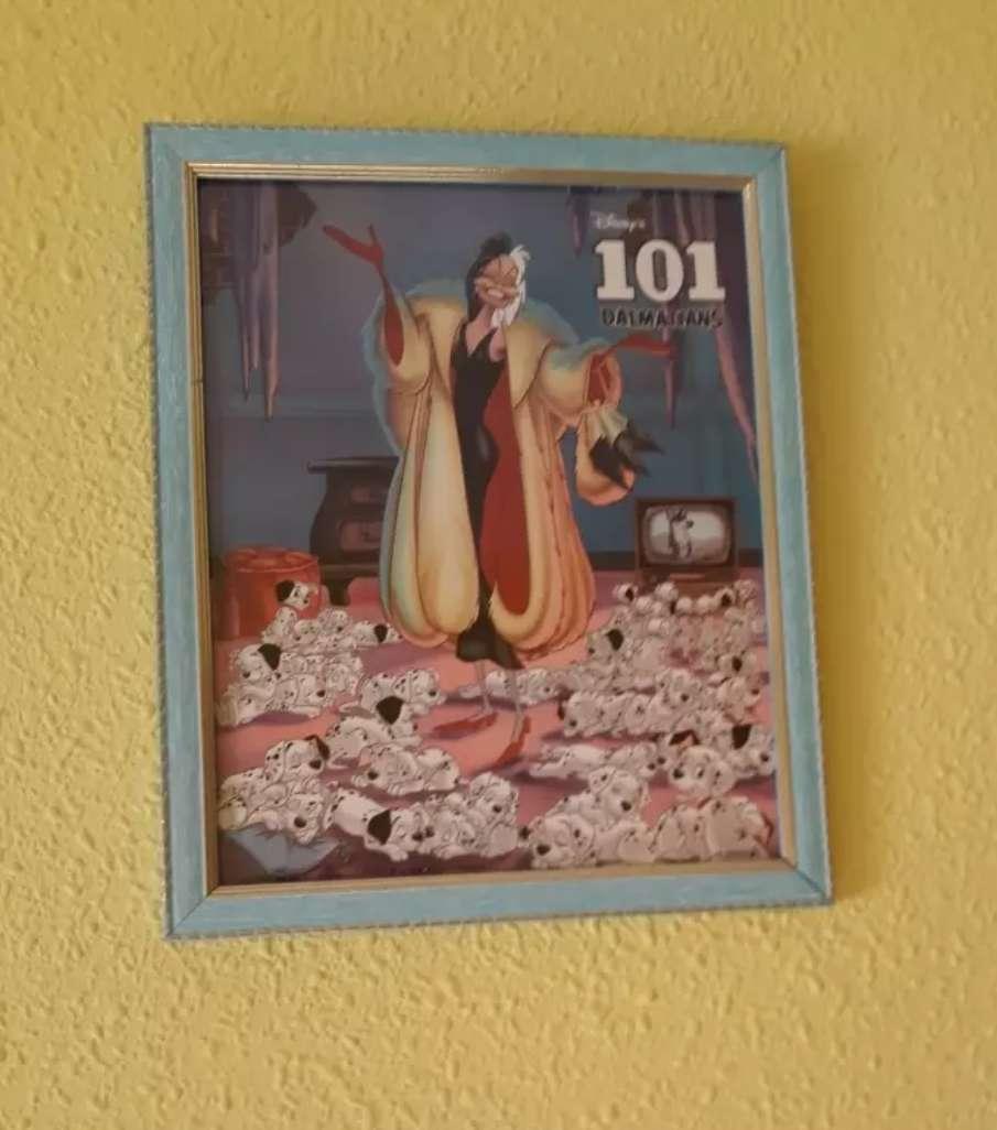 Imagen cuadros de Disney