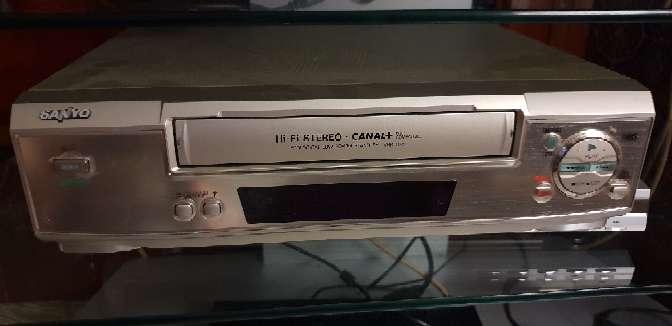 Imagen Video VHS Sanyo
