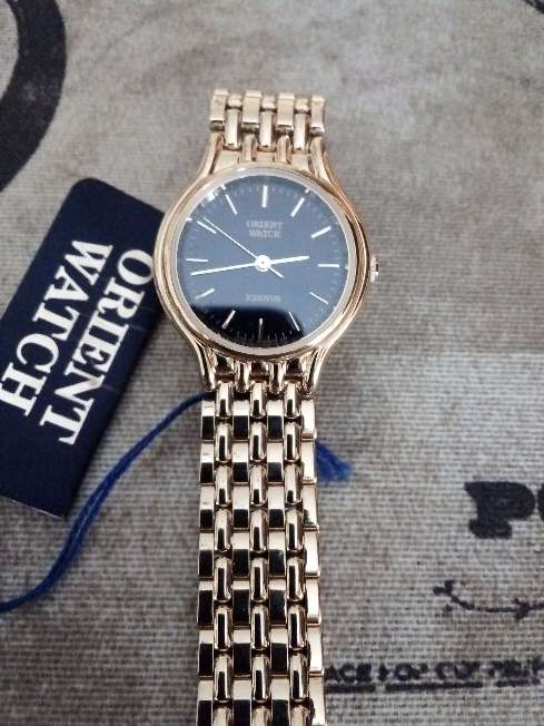 Imagen Reloj Orient mujer chapado nuevo