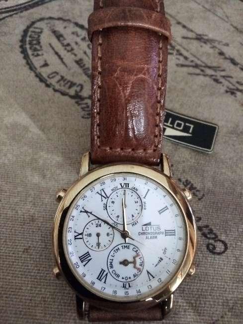 Imagen Reloj Lotus chrono alarma nuevo